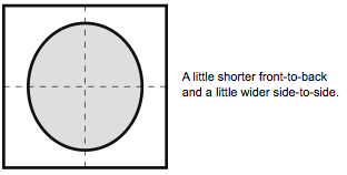 Arai Helmet Sizing - Intermediate Oval